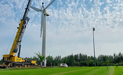 MMPA Brings Wind Turbine to Elk River